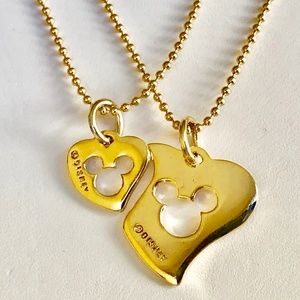 Vintage Disney Mickey Mouse Necklace Mom Daughter